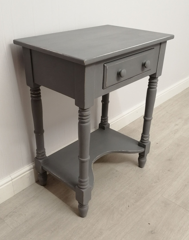 'Anthracite' Side Table