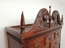 Mahogany Chippendale Style Chest on Chest