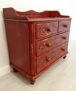 Old Pine Chest of Four Drawers