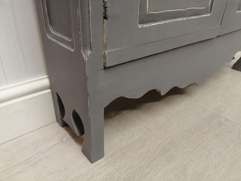 Narrow 'Anthracite' Console Cupboard