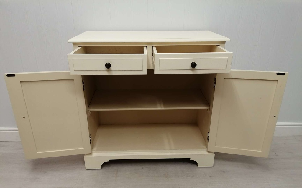 Classic 'Clotted Cream' Small Sideboard