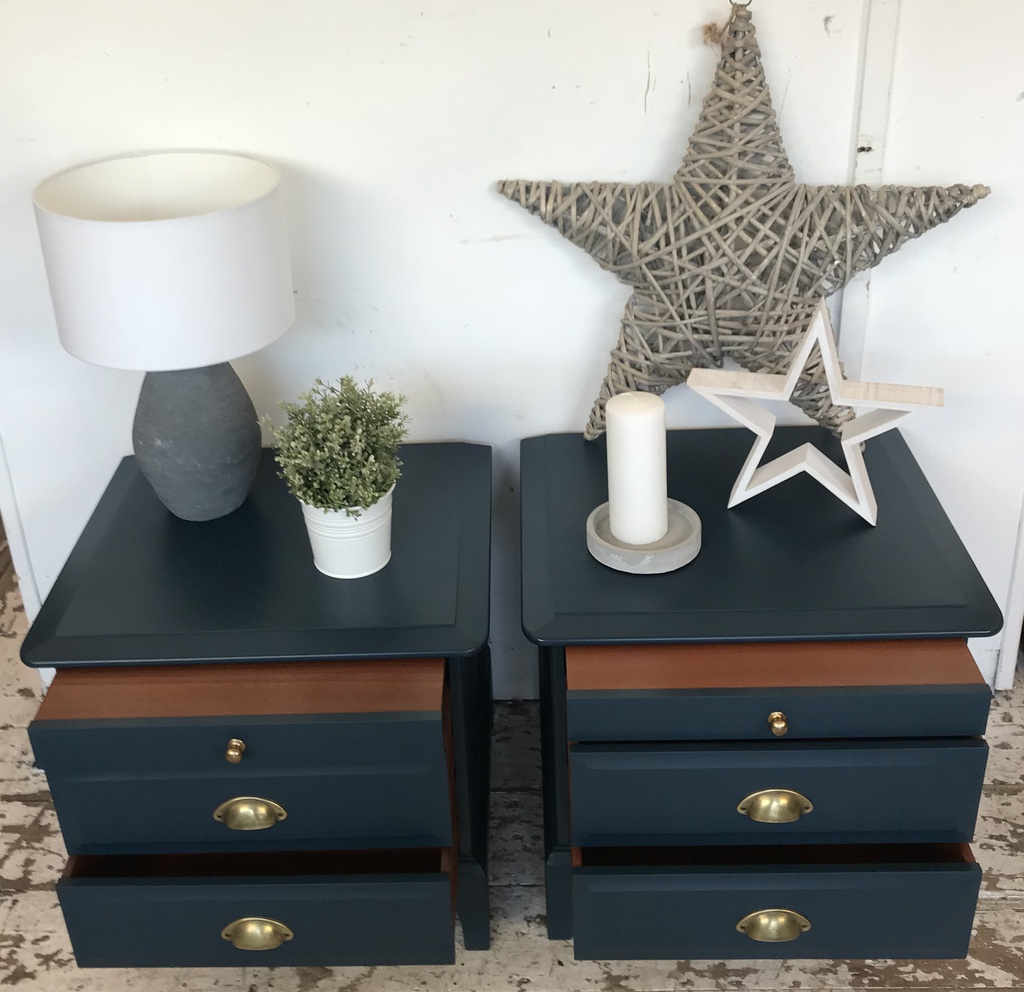 Paint Me To Order - Stag Bedside Pair ft Tea Tray
