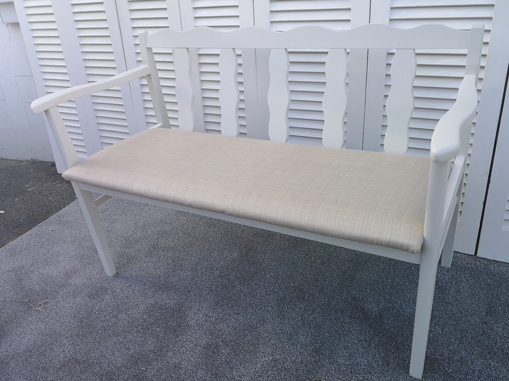 School House White' Bench