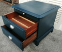 STAG 'Hague Blue' Bedside Chest
