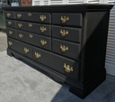 Large 'Natural Charcoal' Chest of Eight Drawers