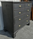 Pine 'Graphite' Chest of Five Drawers