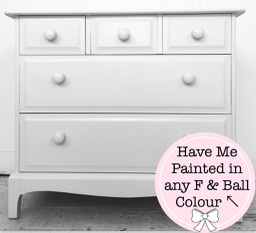 [PAINT ME TO ORDER] Paint To Order - Five Drawer 'Stag Chest'
