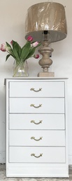 [HS502] Five Drawer French Louis Style Chest